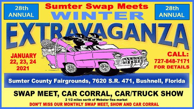 1/22/21 - Sumter Swap Meets 28th Annual Winter Extravaganza