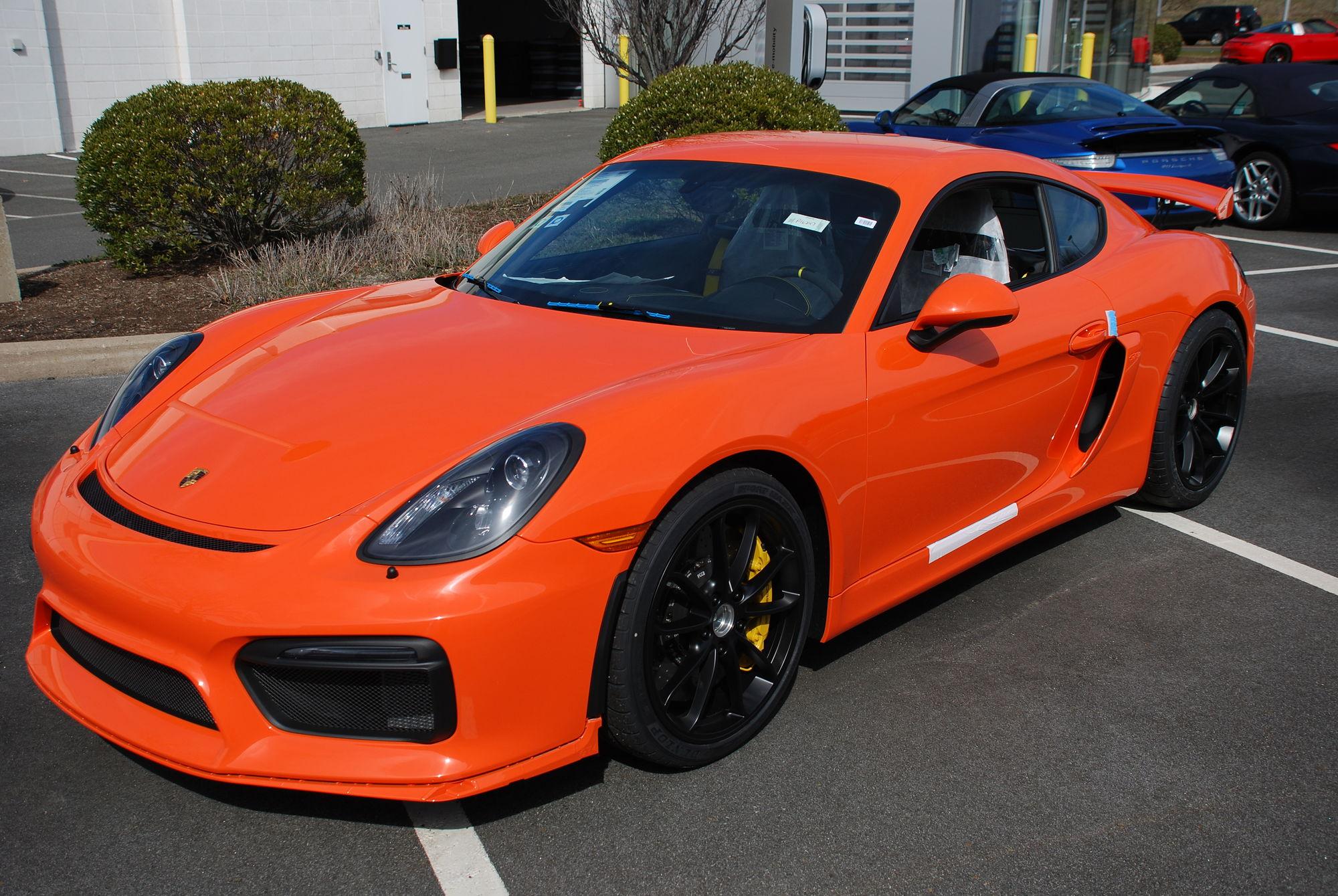 Gulf Orange Pts Arrives Rennlist Porsche Discussion Forums