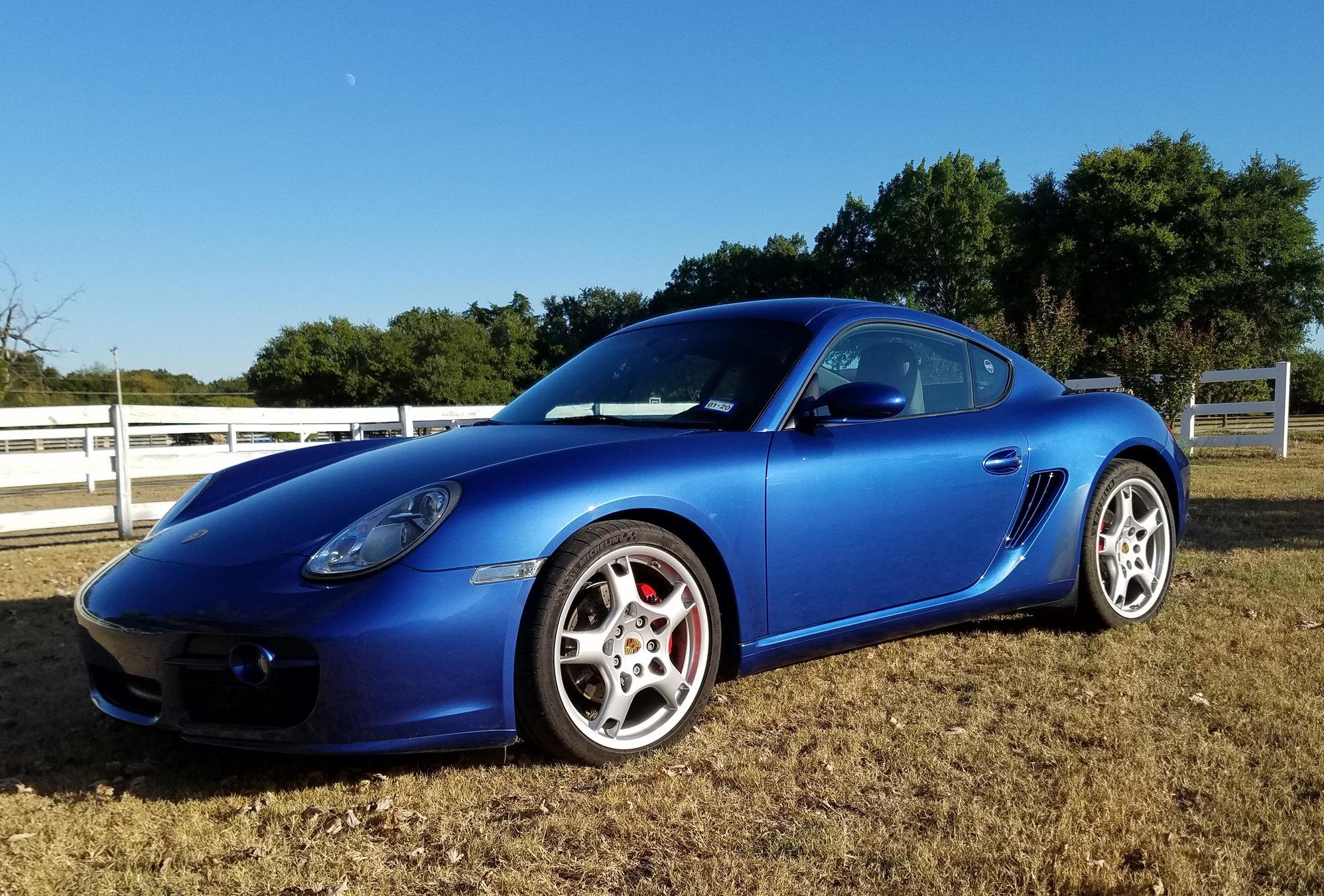 2007 Cayman S Manual In Cobalt Blue Rennlist Porsche Discussion Forums
