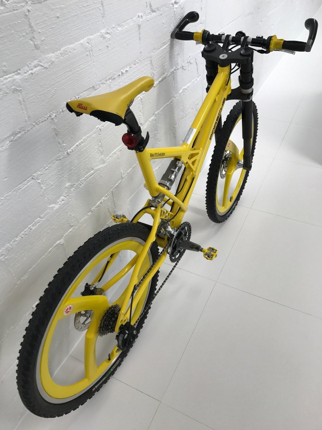fs porsche bike evolution fs mountain bike 51cm. Black Bedroom Furniture Sets. Home Design Ideas