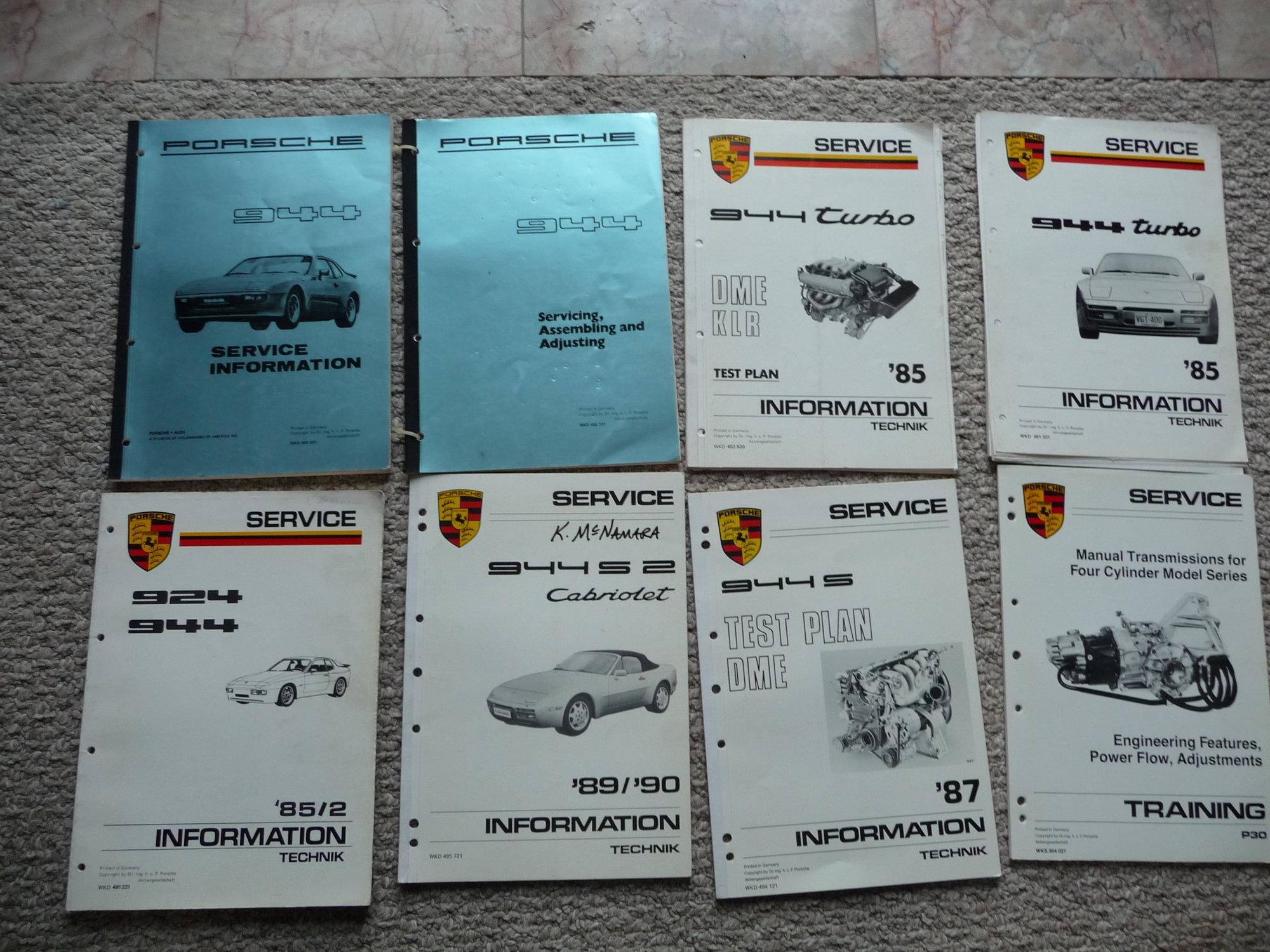 FS 944 Tech Manuals - Rennlist - Porsche Discussion Forums