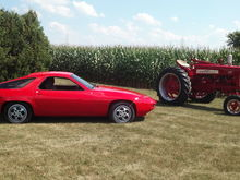 My two favorites, #6 and Farmall 350