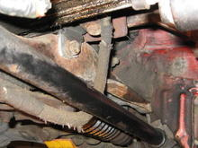 Odd engine ground strap & location.