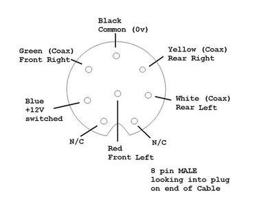 audio connection help blaupunkt reno to aftermarket amp. Black Bedroom Furniture Sets. Home Design Ideas