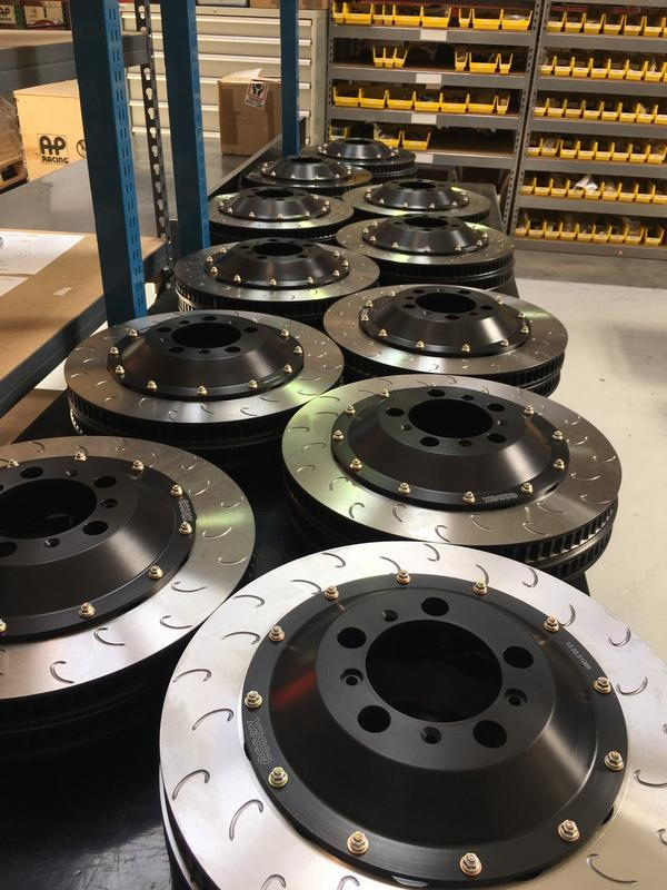 New Brakes! 2-piece AP Racing J Hook Discs and Ferodo Racing