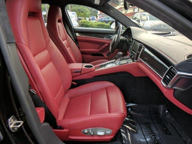 I Finally Joined The Porsche Club Just Purchased A 2014 Panamera Turbo Executive With Carrera Red Black Interior Is Gorgeous