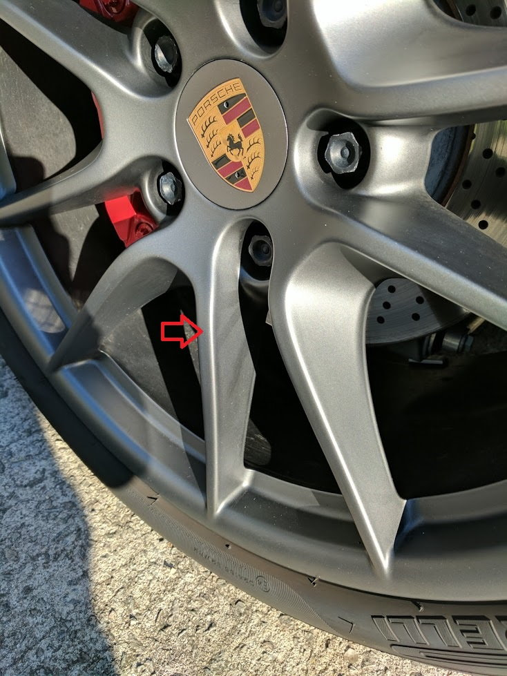 Wheel cleaner streaks - Any way to remove these marks from