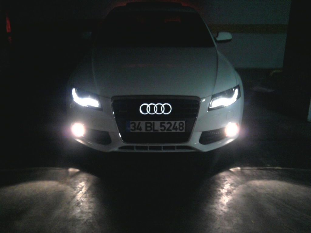 A4 B8 Lighted Logo Emblem Audiworld Forums