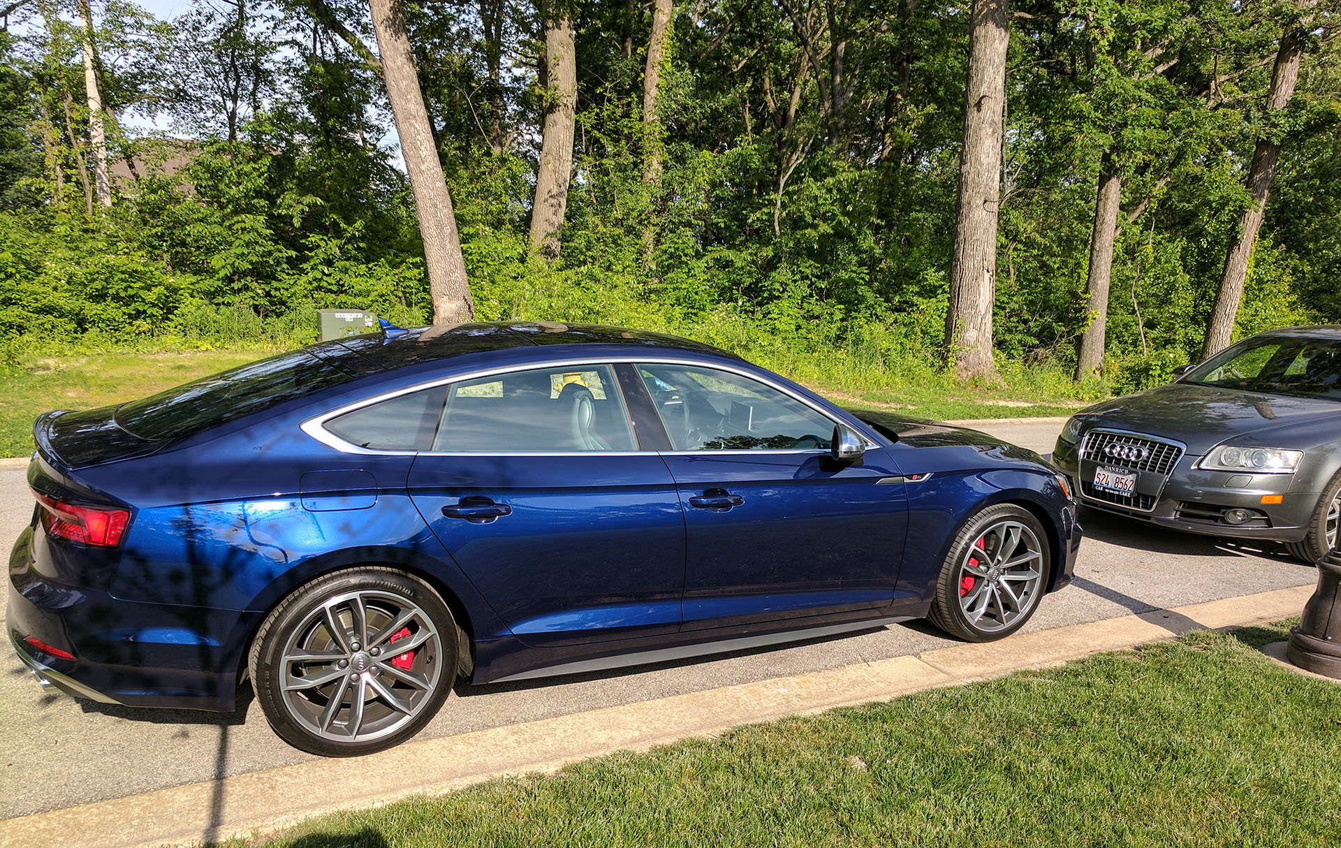My Navarra Blue B9 S5 Sportback Audiworld Forums