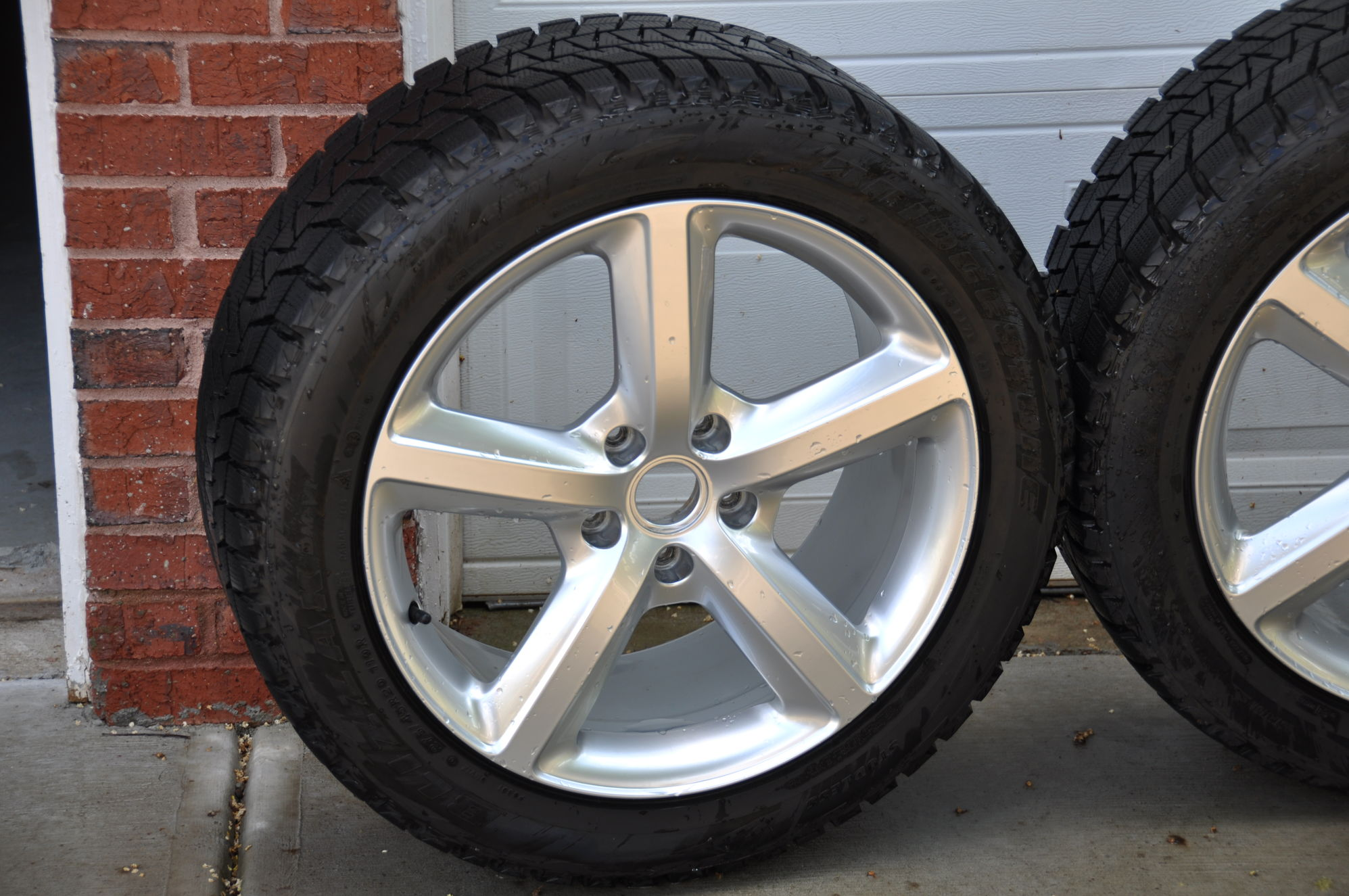 "Audi For Sale In Ga >> Audi Q7 Winter setup OEM S-line 20"" Bridgestone Blizzak ..."