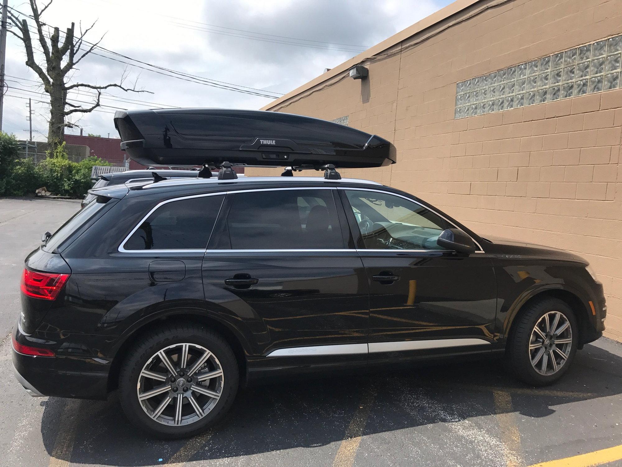 Audi Roof Rack Thule Motion Xt Xxl Box Stowaway Max