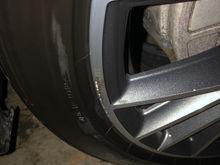 Curb scuff