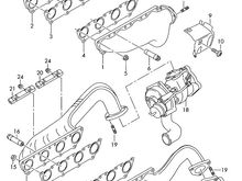 Exhaust Manifold Diagram