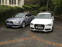 sold the RS4 after I got the 3.0TDi. As quick 0-100 but doesnt sound the same!!