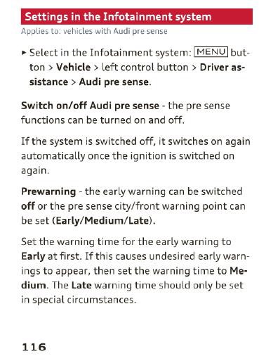 Presense false activation - AudiWorld Forums