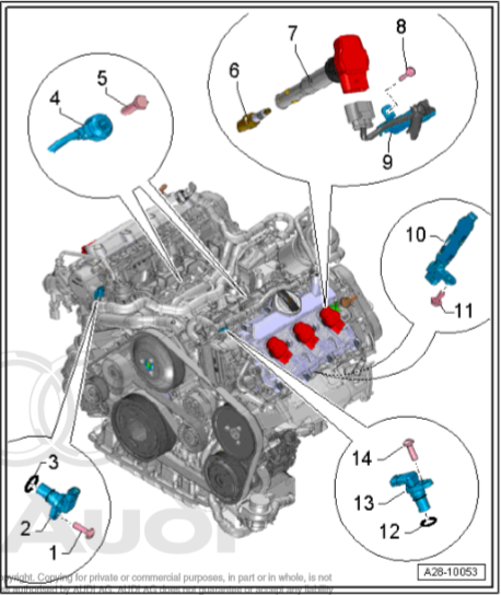 Audi Crank Sensor Diagram - Wiring Diagram Query