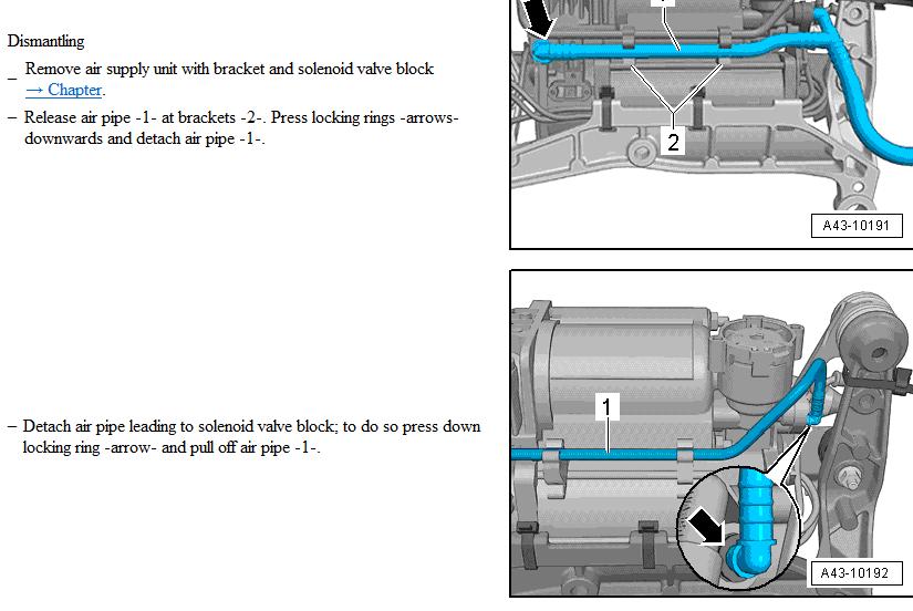 Adaptive Air Suspension Compressor Location Audiworld Forums