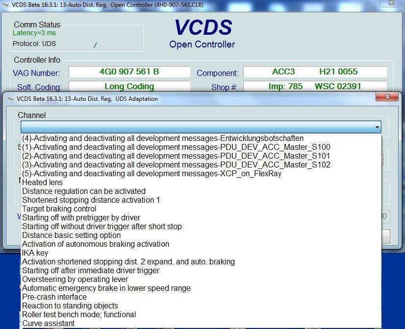 VAG-COM (VCDS) coding for 2016 FL A6/A7 - Page 8 - AudiWorld