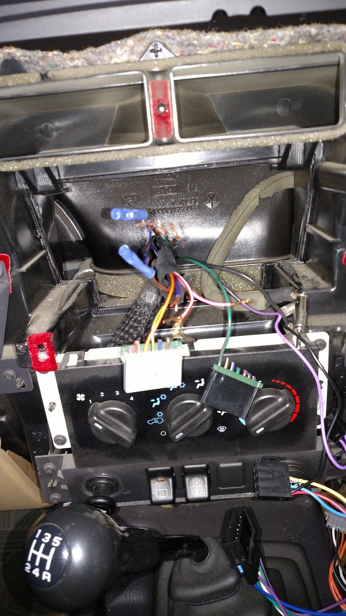 Need some radio wiring help - Jeep Cherokee Forum Factory Wiring Harness Cut on