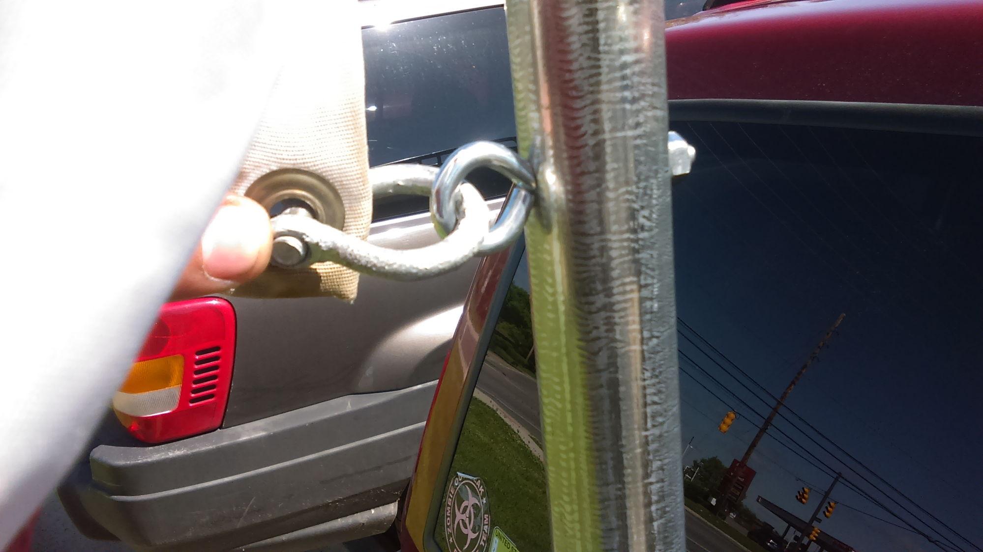 homemade flag pole mount Jeep Cherokee Forum