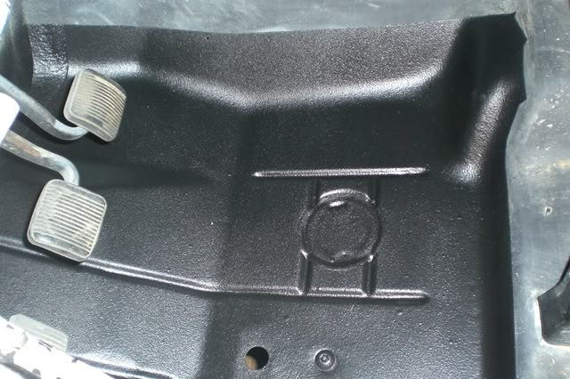 Large Holes In Driver Passenger Floor Pans Oem Holes