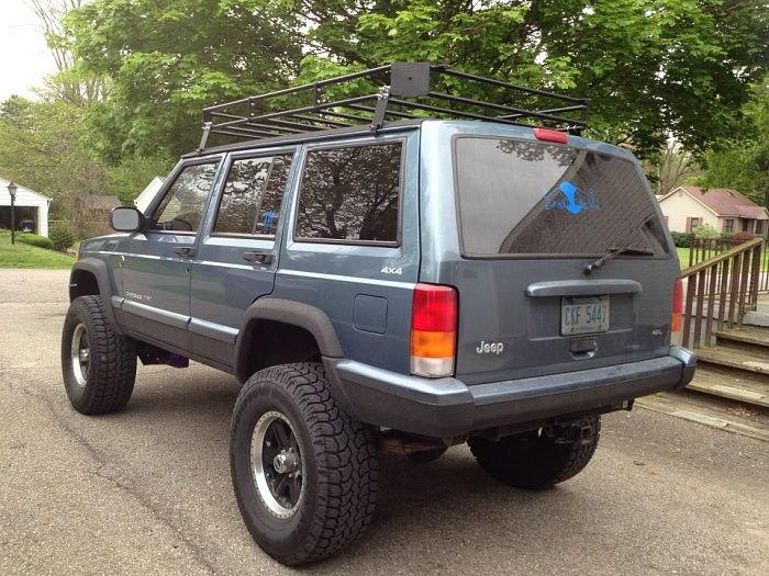 Nates 4x4 Xj Roof Rack Jeep Cherokee Forum