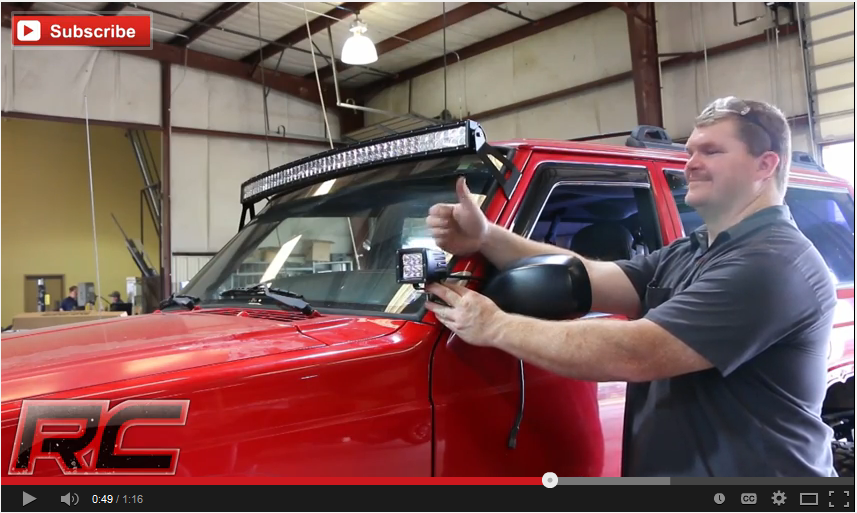 Rough Country To Release 50 Quot Curved Led Bar Mounts