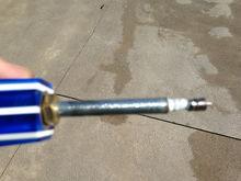 The inner threaded shaft
