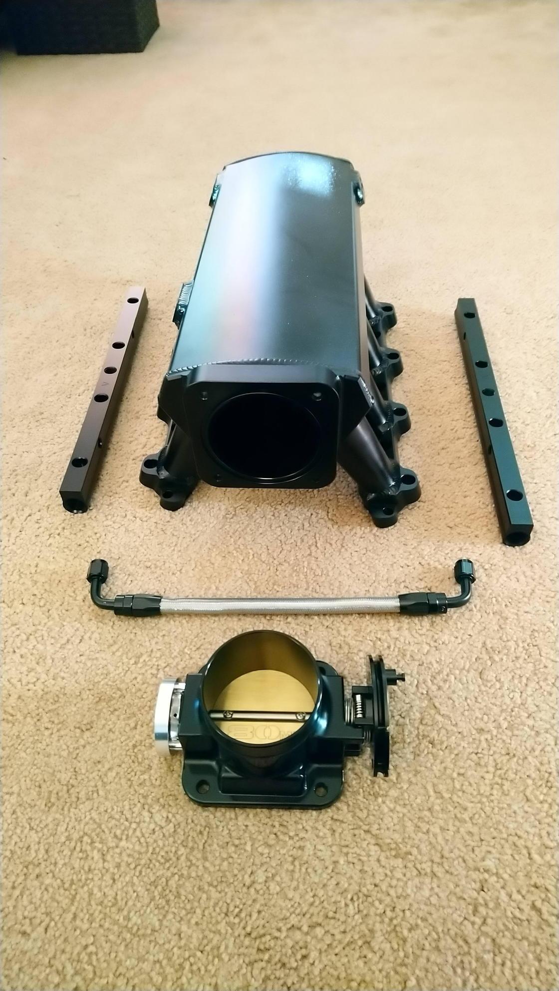 Hpo Motorsport 1uz Fe Intake Manifold Kit  1uz Non