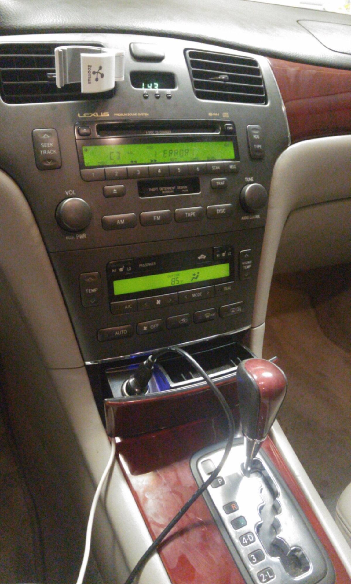 2003 4ES basic/cheap aux input guide - ClubLexus - Lexus Forum