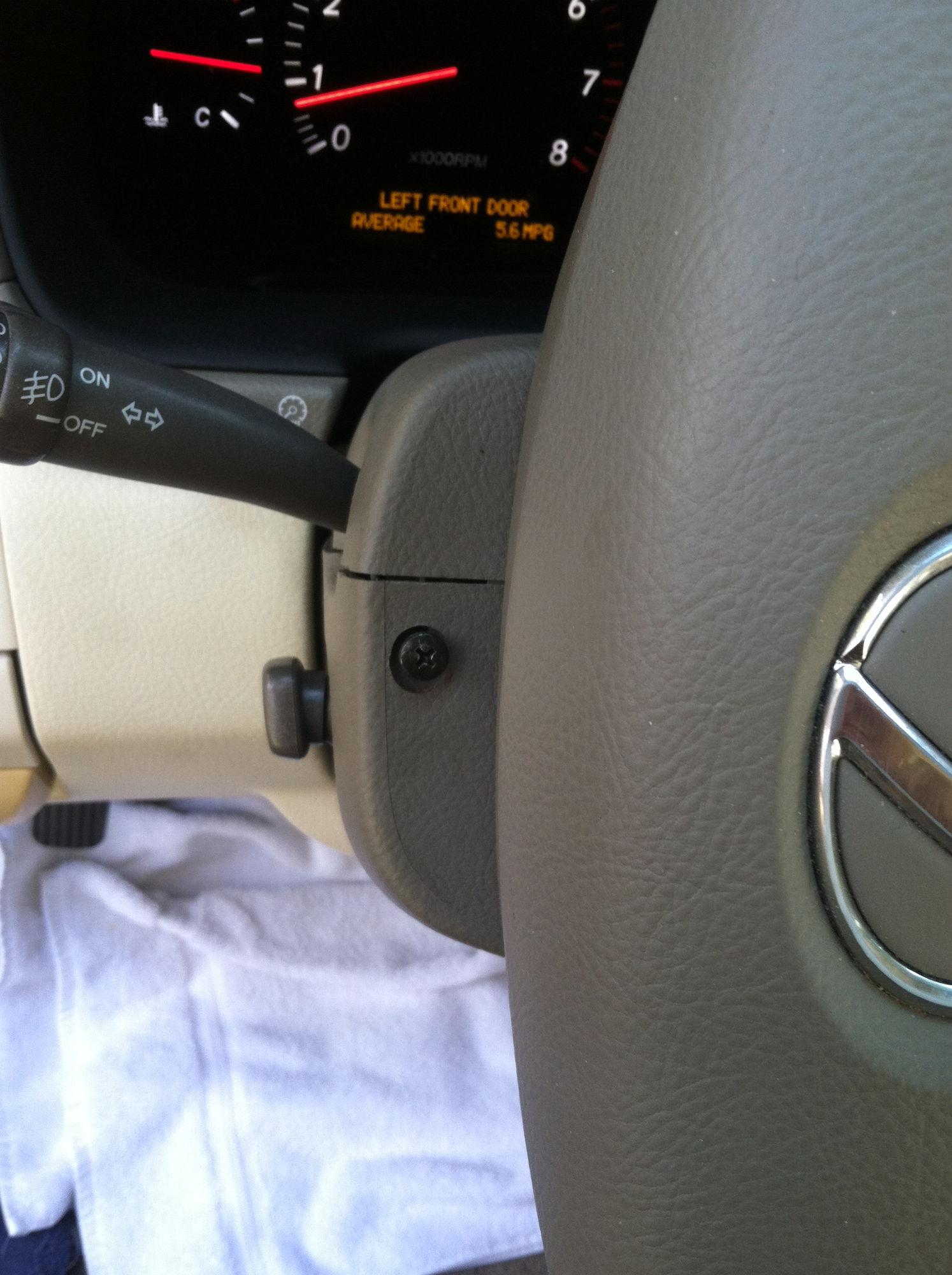diy the step by step telescopic steering write up clublexus 1993 Lexus SC300  Steering Pump at