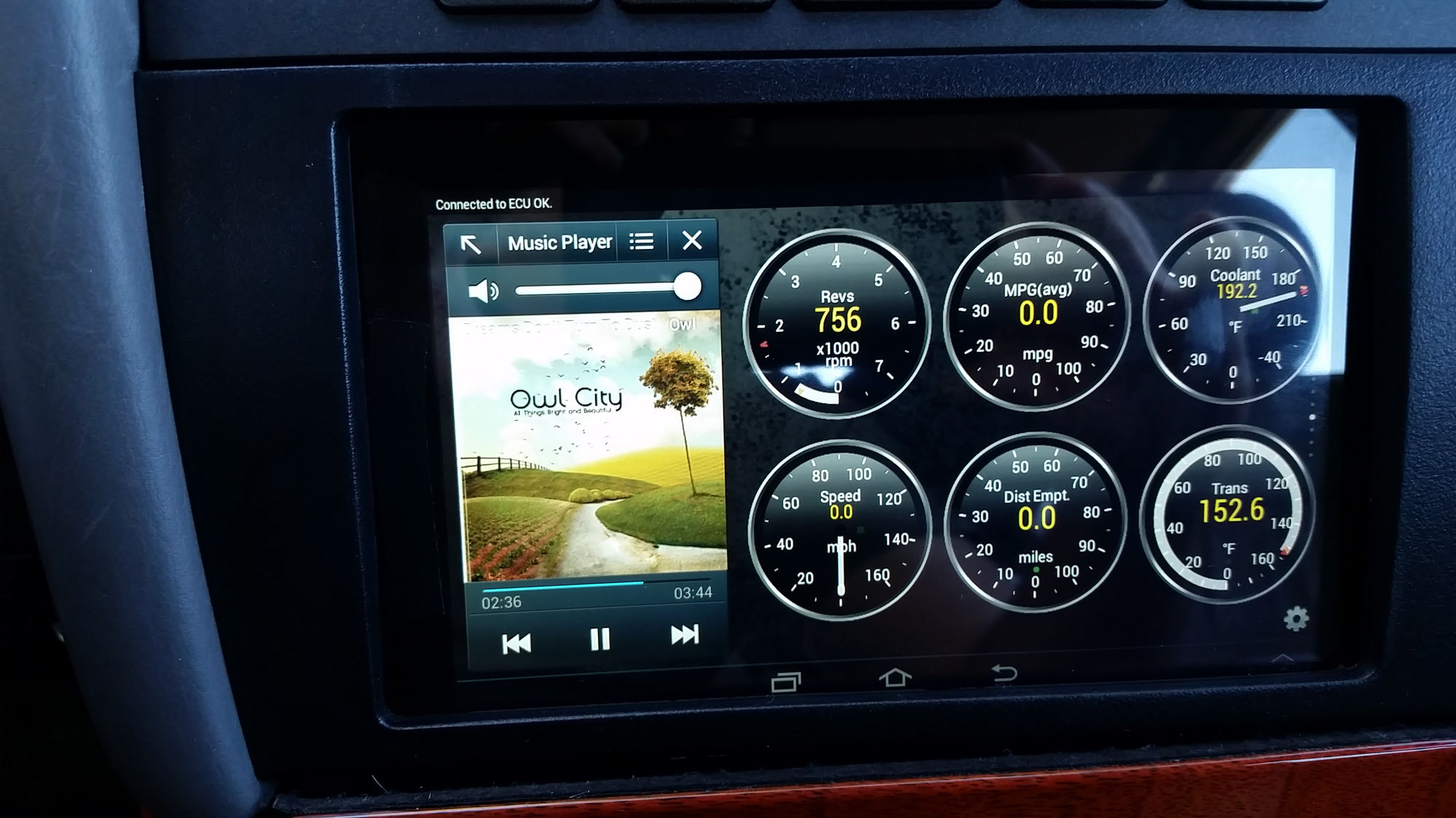 My in dash 7 inch galaxy tablet install clublexus lexus forum galaxy 7inch tablet in dash greentooth Image collections