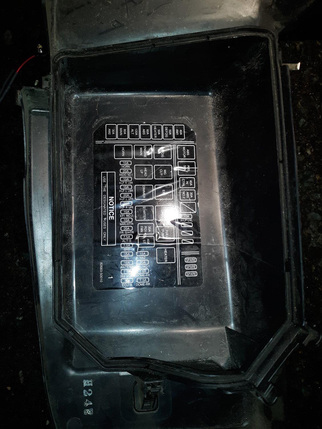 Fuse Box Cover Gasket - Clublexus
