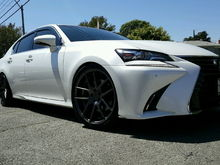 2016 Lexus GS350 | Wheels & Tire Package + Lowering Springs