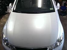 08' GS 460 opaline white