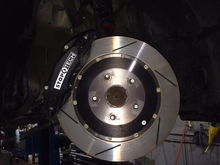 "Stop Tech BBK - 14"" full floating roters and 4 POT calipers."