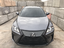 "2016 Lexus RX350 Nebula Gray Pearl w/ Noble Brown 20"" Black out"