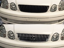 I added this chrome grill