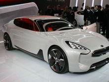 KIA GT front,