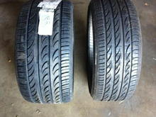 Lexus ISF Pirelli Tires - 235/30/20 up front 285/25/20 rear