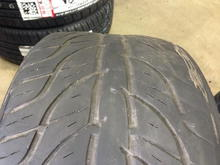 IS350 Tires After Drift Run