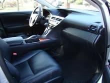 450h interior
