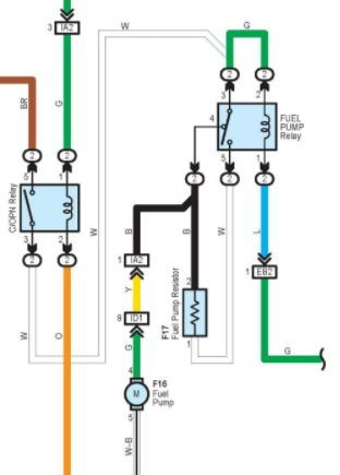 Lexus Fuel Pump Diagram - Data Wiring Diagram