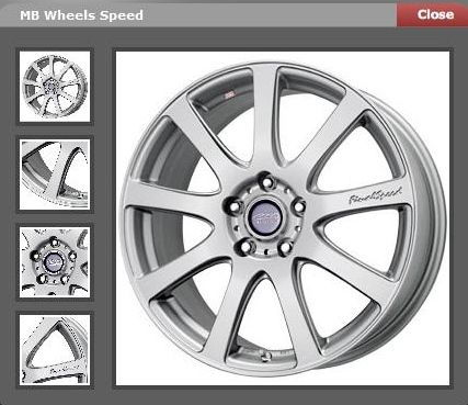MB Wheels Speed (discontinued)