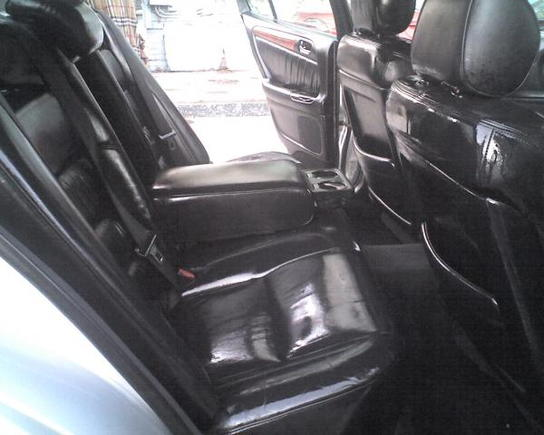 INTERIOR WHILE APPLYING BLACK MAGIC PROTECTANT....NOT TIRE WET
