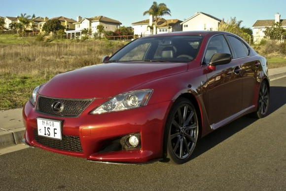 Lexus IS F 02h