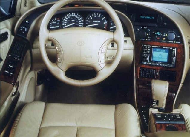 1998 oldsmobile aurora interior