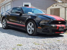 This is my Mustang the day I brought it home.