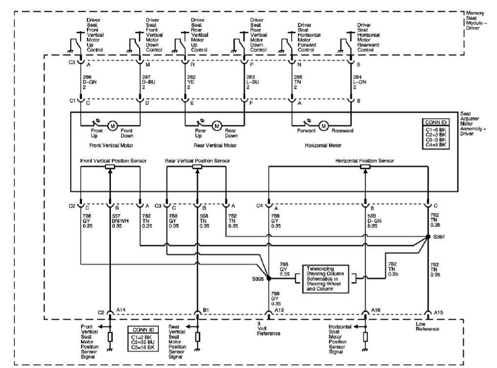 c6 electrical seat wiring diagram corvetteforum chevrolet rh corvetteforum com GM Engine Wiring Diagrams GM Turn Signal Wiring