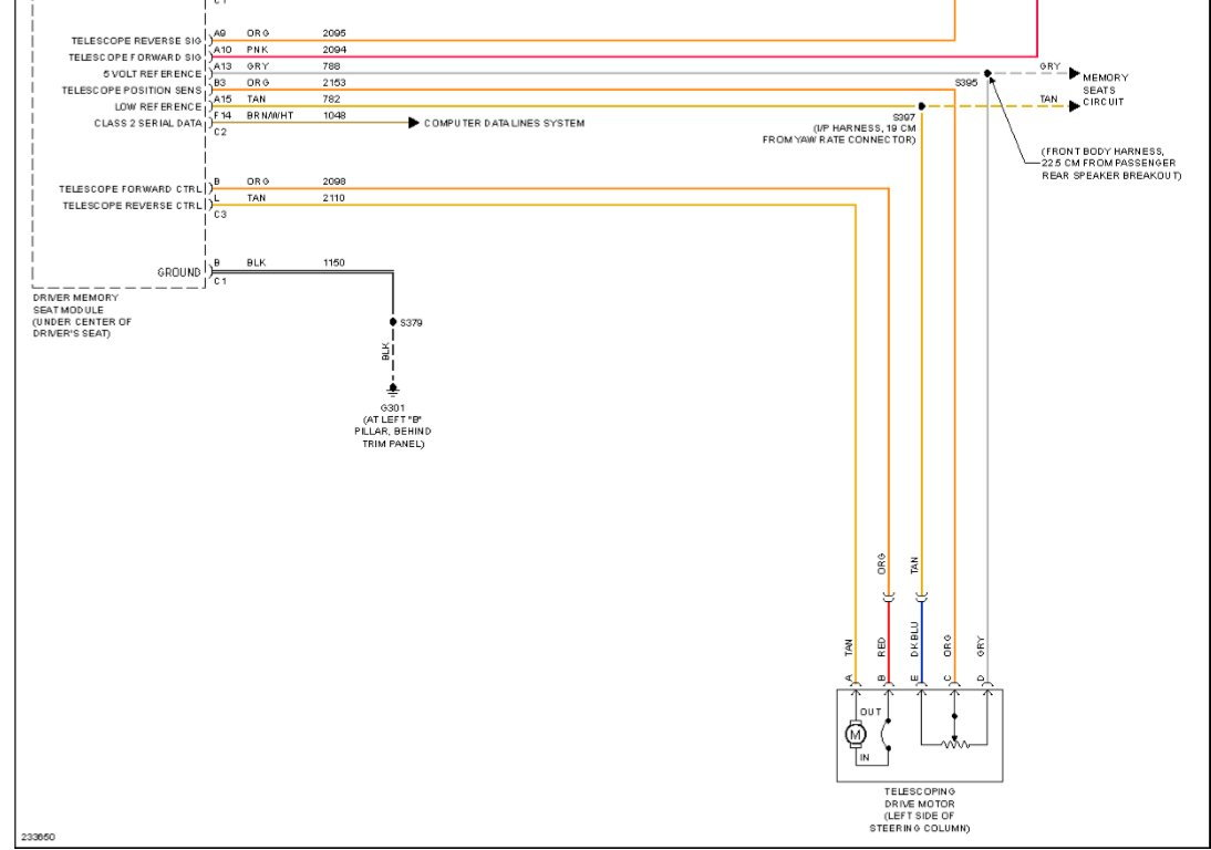 2005 Telescoping Wheel Inop Corvetteforum Chevrolet Corvette 2007 Seat Wiring Diagram If You Want The 2006 Diagrams As Per Pics E Mail Me Your And Ill Forward Them To They Are Too Big Insert In Posts